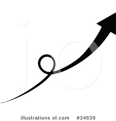 Royalty-Free (RF) Arrow Clipart Illustration by OnFocusMedia - Stock Sample #34639
