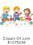 Royalty-Free (RF) Art Class Clipart Illustration #1075296