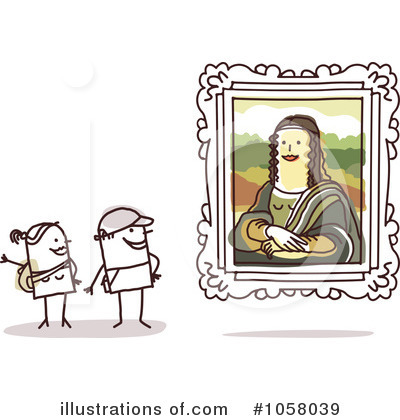 Mona Lisa Clipart #1058039 by NL shop
