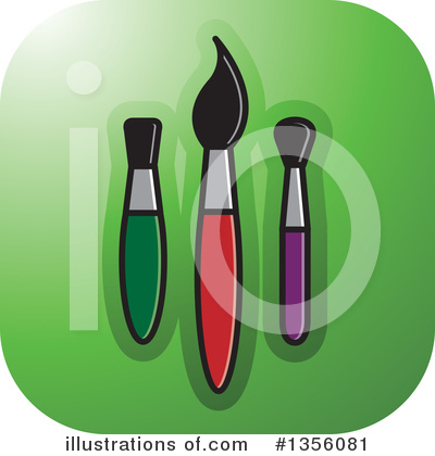 Painting Clipart #1356081 by Lal Perera