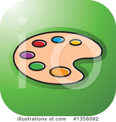 Painting Clipart #1356082 by Lal Perera