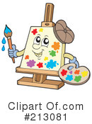 Royalty-Free (RF) Art Clipart Illustration #213081