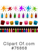 Royalty-Free (RF) Art Clipart Illustration #76868