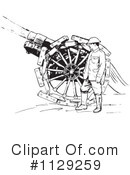 Royalty-Free (RF) Artillery Clipart Illustration #1129259