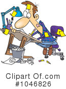 Royalty-Free (RF) Artist Clipart Illustration #1046826