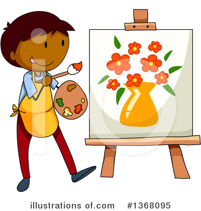 Painting Clipart #1368095 by Graphics RF