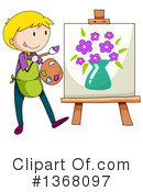 Artist Clipart #1368097 by Graphics RF