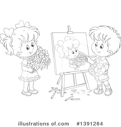 Royalty-Free (RF) Artist Clipart Illustration by Alex Bannykh - Stock Sample #1391264