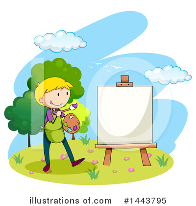 Painting Clipart #1443795 by Graphics RF