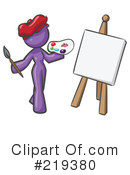 Royalty-Free (RF) Artist Clipart Illustration #219380