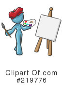 Royalty-Free (RF) Artist Clipart Illustration #219776