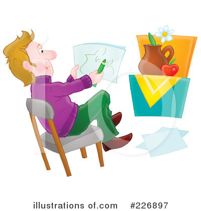 Royalty-Free (RF) Artist Clipart Illustration by Alex Bannykh - Stock Sample #226897