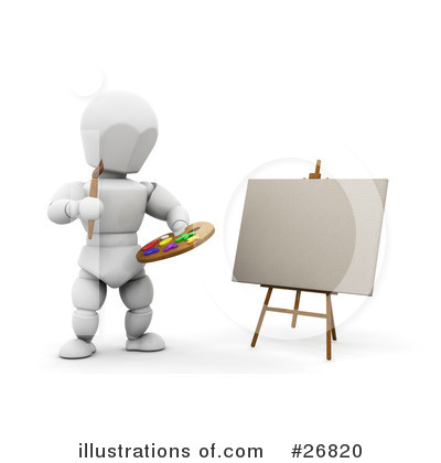 Paint Clipart #26820 by KJ Pargeter