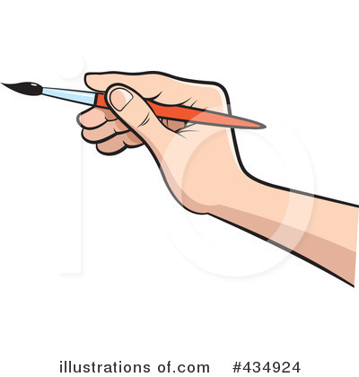 Paintbrush Clipart #434924 by Lal Perera