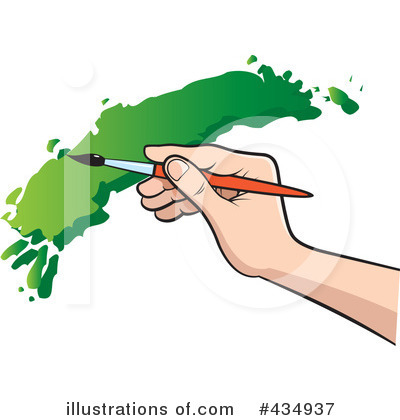 Paintbrush Clipart #434937 by Lal Perera