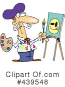 Artist Clipart #439548 by toonaday