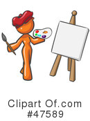 Royalty-Free (RF) Artist Clipart Illustration #47589