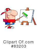 Artist Clipart #83203 by Hit Toon