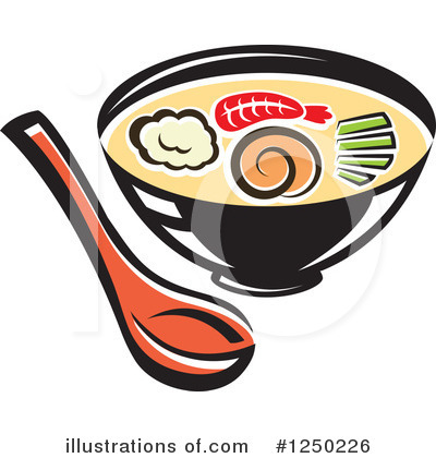 Seafood Clipart #1250226 by Vector Tradition SM