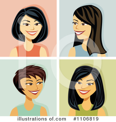 Avatars Clipart #1106819 by Amanda Kate