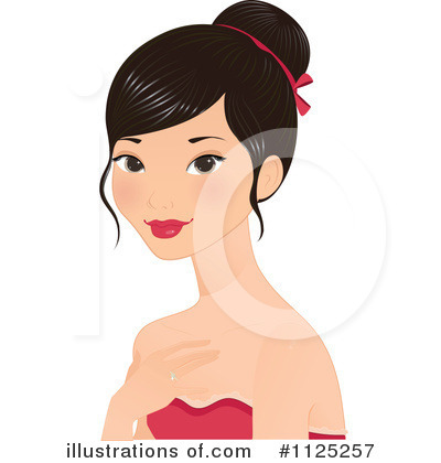 Asian Clipart #1125257 by Melisende Vector