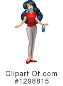 Asian Woman Clipart #1298815