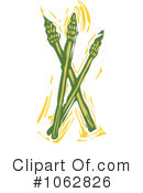 Royalty-Free (RF) Asparagus Clipart Illustration #1062826