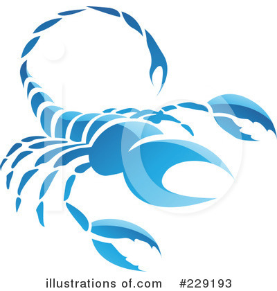Scorpio Clipart #229193 by cidepix