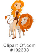 Royalty-Free (RF) Astrology Clipart Illustration #102333