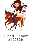 Royalty-Free (RF) Astrology Clipart Illustration #102336