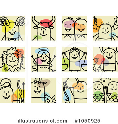 Horoscope Clipart #1050925 by NL shop