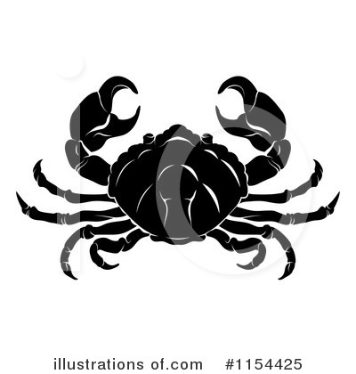 Crab Clipart #1154425 by AtStockIllustration