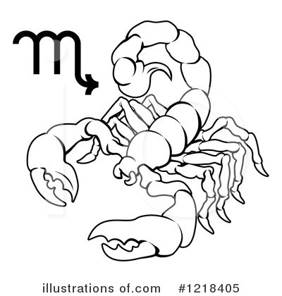 Scorpion Clipart #1218405 by AtStockIllustration