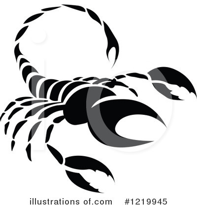 Scorpio Clipart #1219945 by cidepix