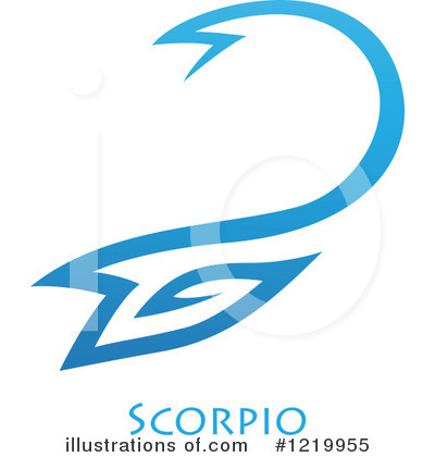 Scorpio Clipart #1219955 by cidepix