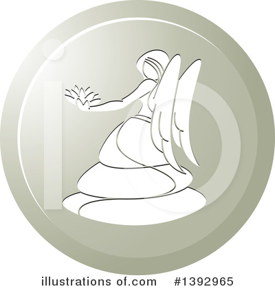 Angel Clipart #1392965 by Lal Perera
