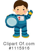 Astronaut Clipart #1115916 by BNP Design Studio