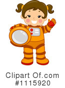 Astronaut Clipart #1115920 by BNP Design Studio