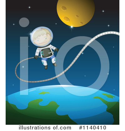 Astronaut Clipart #1140410 by Graphics RF
