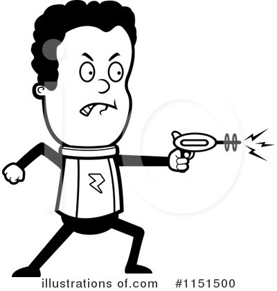 Royalty-Free (RF) Astronaut Clipart Illustration by Cory Thoman - Stock Sample #1151500