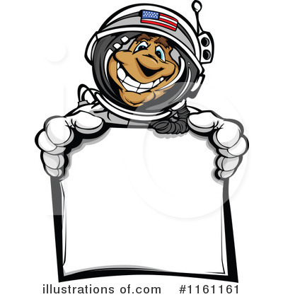 Astronaut Clipart #1161161 by Chromaco