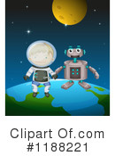 Astronaut Clipart #1188221 by Graphics RF