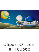 Astronaut Clipart #1189666 by Graphics RF