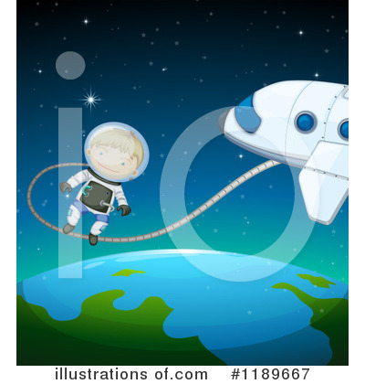Astronaut Clipart #1189667 by Graphics RF