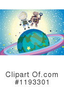 Astronaut Clipart #1193301 by Graphics RF