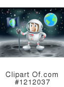 Astronaut Clipart #1212037 by AtStockIllustration