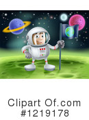 Astronaut Clipart #1219178 by AtStockIllustration