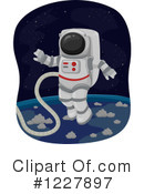 Astronaut Clipart #1227897 by BNP Design Studio