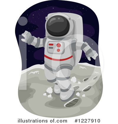 Astronaut Clipart #1227910 by BNP Design Studio