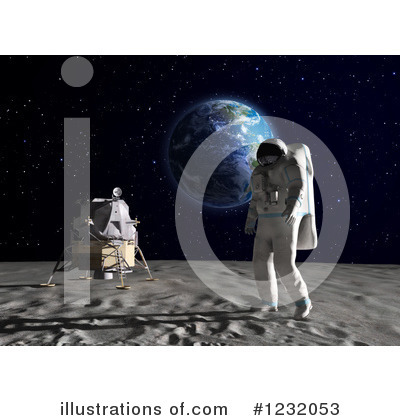Space Exploration Clipart #1232053 by Mopic
